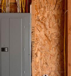 garage electrical service panel [ 1438 x 959 Pixel ]