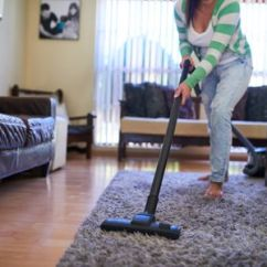 Clean Living Room White Cabinet For How To Deep Your Woman Vacuuming Her