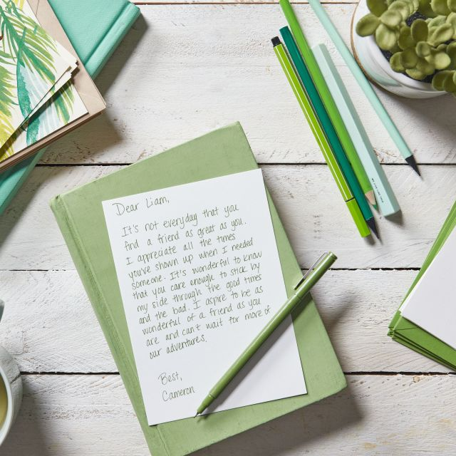 Thank You Notes to a Friend for Being There for You