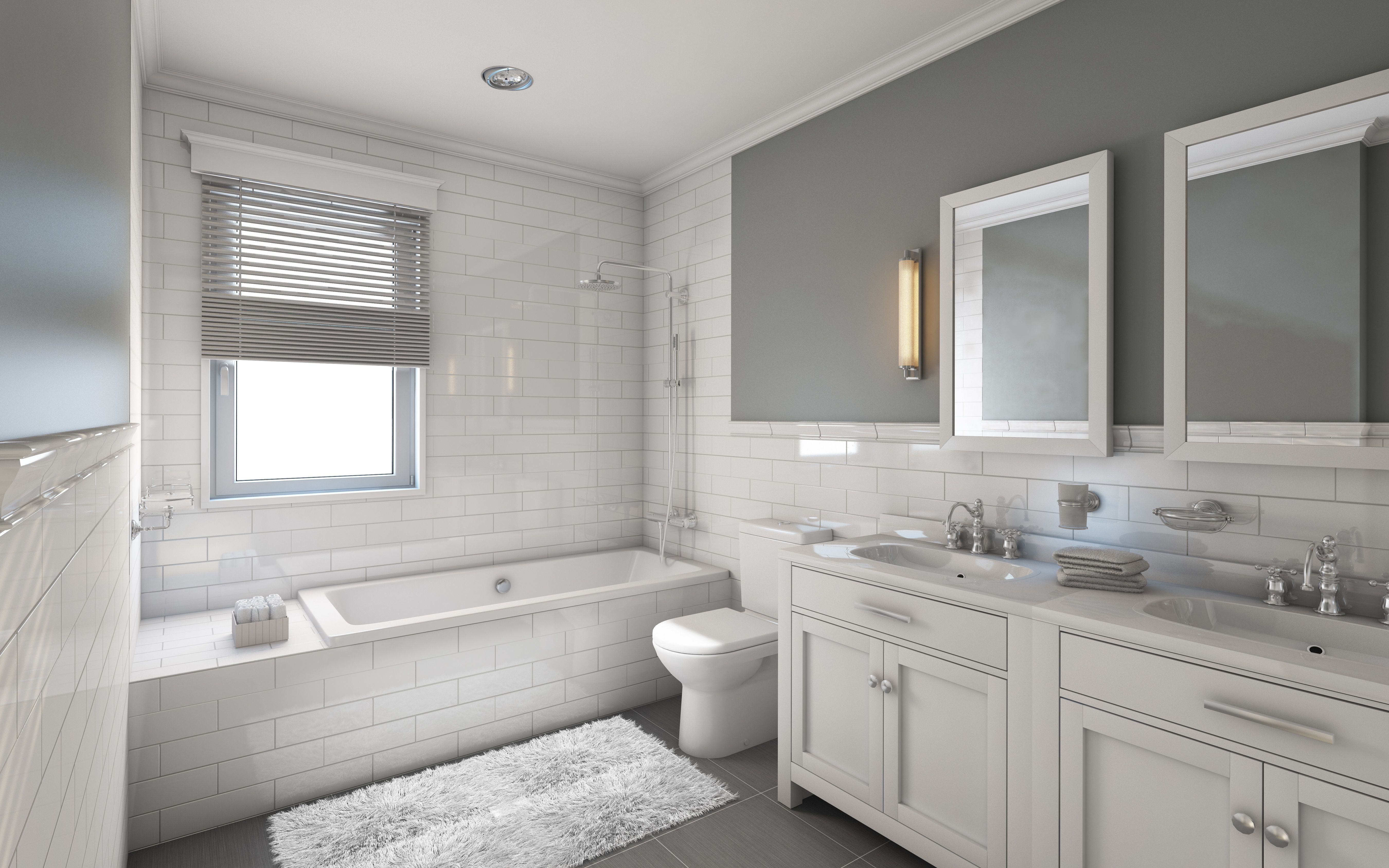 title   Gray And White Bathroom Ideas
