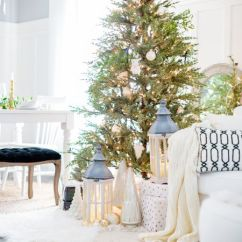 Pictures Of Living Room Decorated For Christmas Home Design 2016 21 Beautiful Ways To Decorate The White