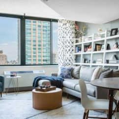 Apartment Living Room Designs Blinds Argos How To Decorate A Small In 17 Ways With Shelves Behind The Couch By Human