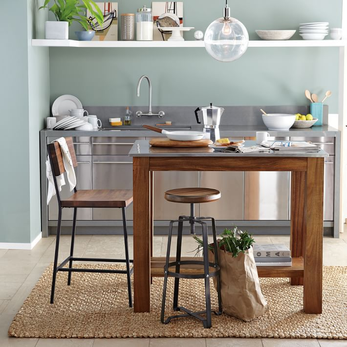 best kitchen islands antique white table the for 2019 modern west elm rustic island