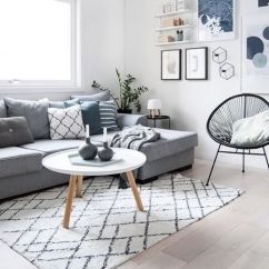Scandinavian Living Room Furniture Decor With Dark Brown Couch What Is Design