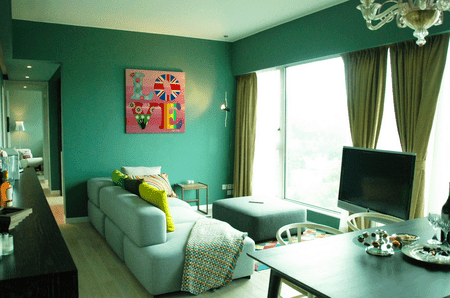 wall colors for living room with green furniture pictures ideas a condo s