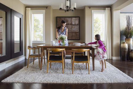chairs dining table serta puresoft executive massage chair choosing the right for your mother and daughter setting in room