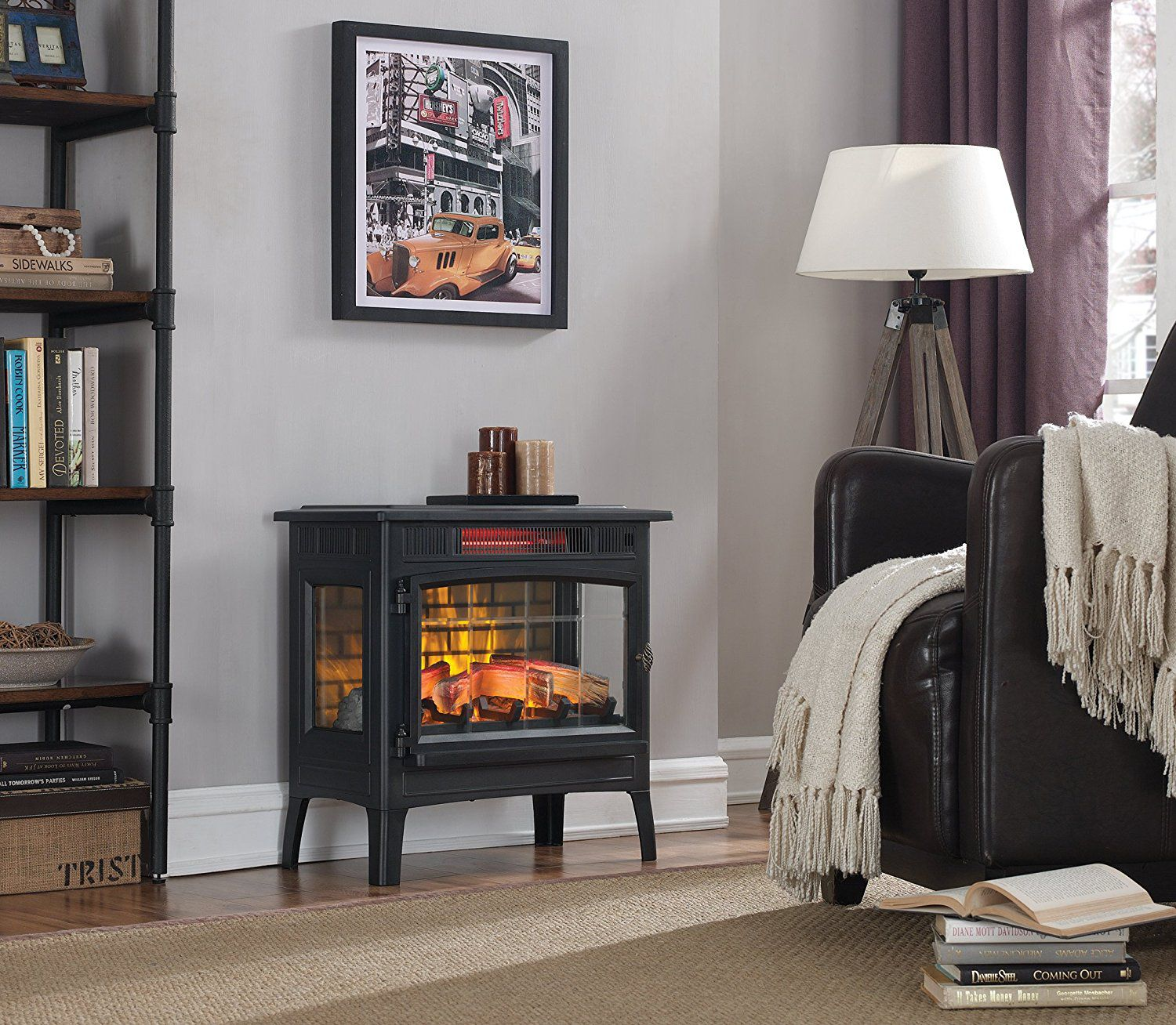 The 7 Best Electric Fireplace Heaters Of 2019
