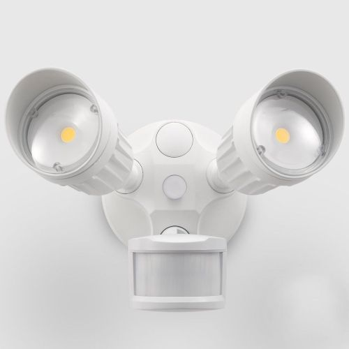 small resolution of 20w dual head motion activated led outdoor security light photo sensor 3 modes