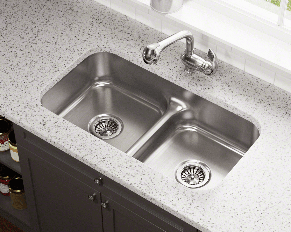 low divide kitchen sinks