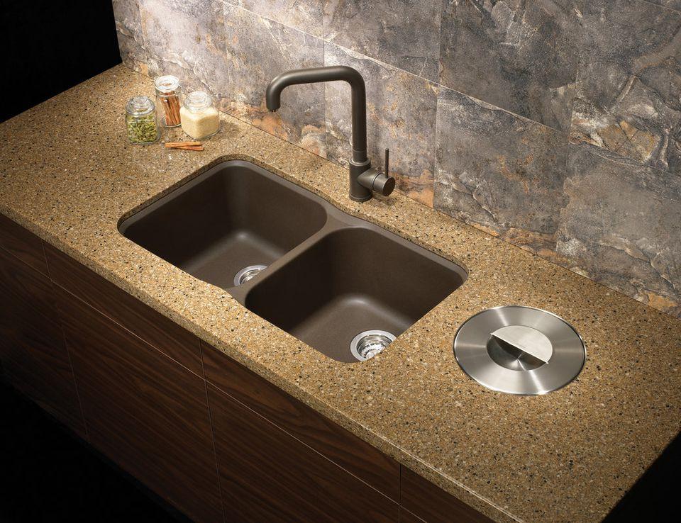 swanstone single bowl kitchen sink walmart aid mixer 9 undermount models