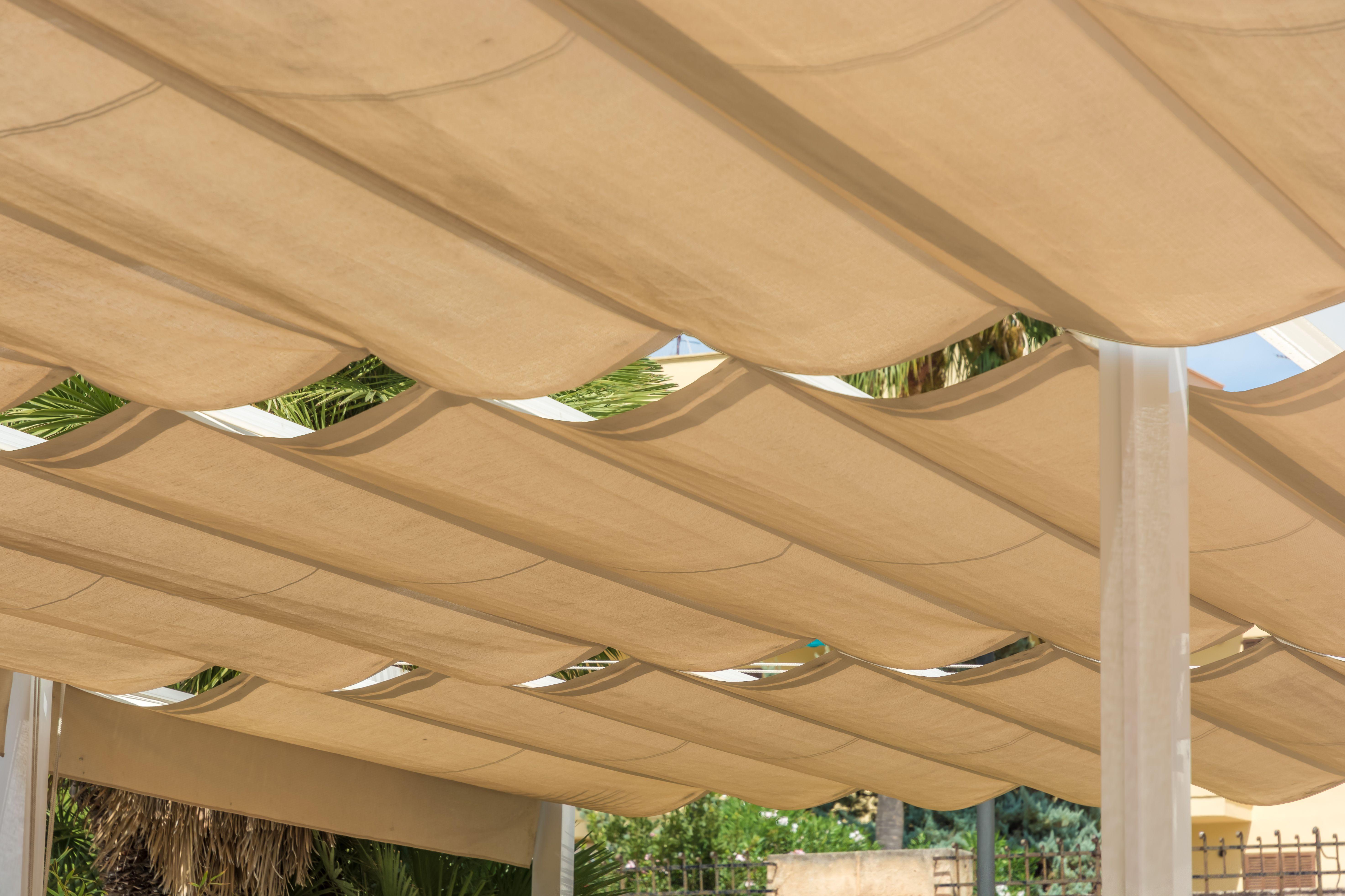 How To Build A Diy Retractable Pergola Canopy