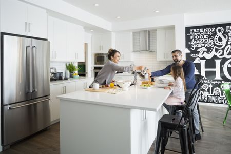 kitchen islan nook bench the best islands for 2019 family enjoying breakfast in morning