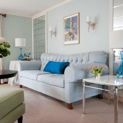 Blue Walls Living Room Tv Wall Units For Ideas