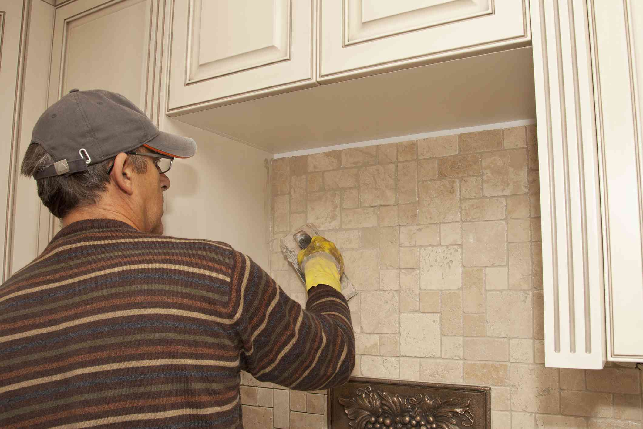 travertine kitchen backsplash cabinet reface the best materials tile