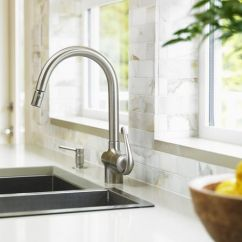 Stainless Steel Kitchen Faucets Outdoor Cabinet How To Install A Moen Faucet