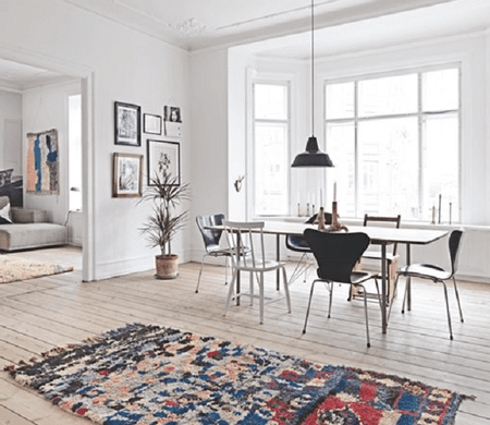 modern rug ideas for living room with brown leather oriental rugs in scandinavian design