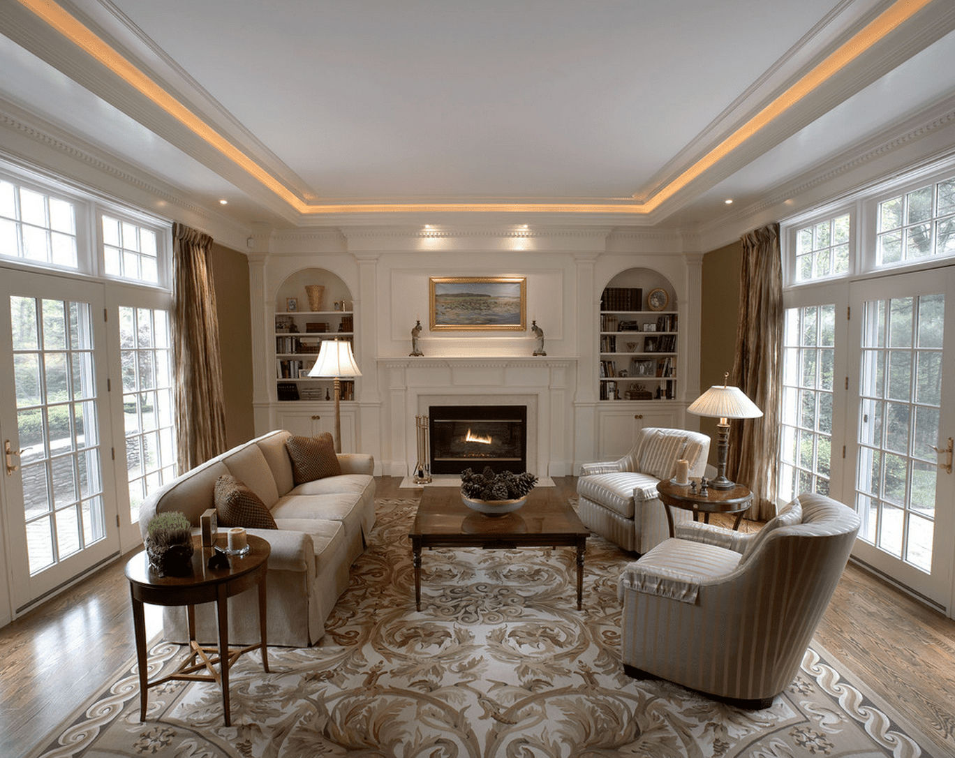 ceiling lights for living rooms create your own room set 15 beautiful lighting ideas