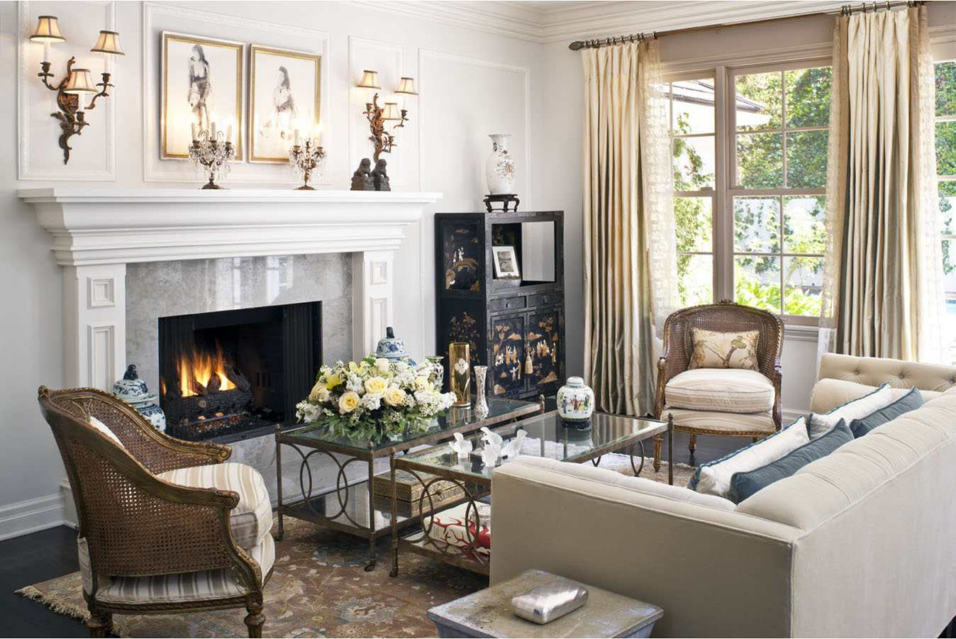 traditional living rooms modern room with dark wood floors 23 for inspiration