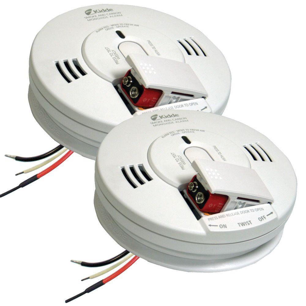 hight resolution of best set kidde firex hardwire smoke and carbon monoxide combination detector 2 pack