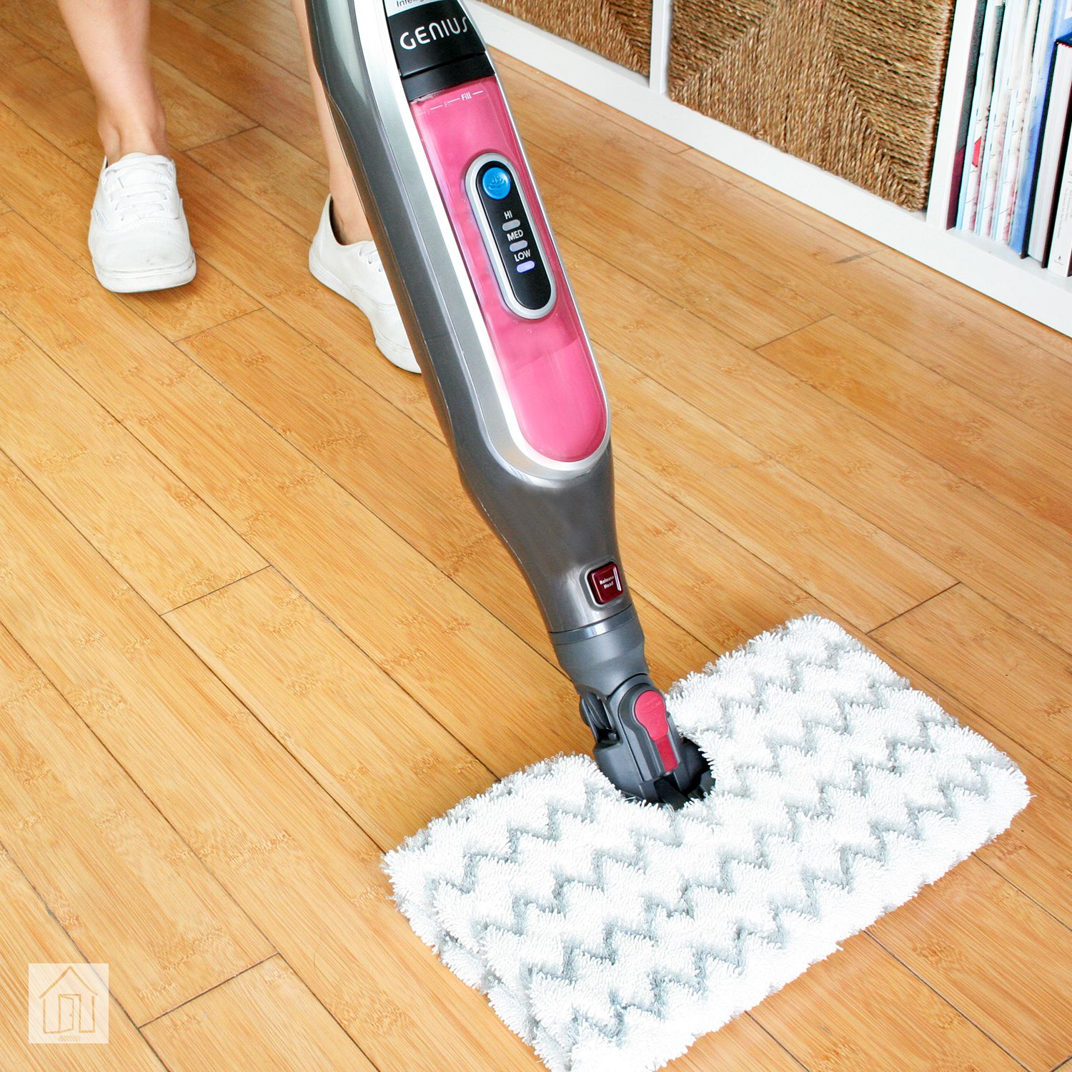 Shark Genius Steam Pocket Mop Review Cleans And Sanitizes