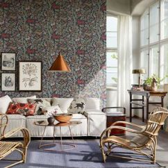 Wallpaper For Living Room Ideas F Furniture 9 Ways To Use In A 25 Modern Floral