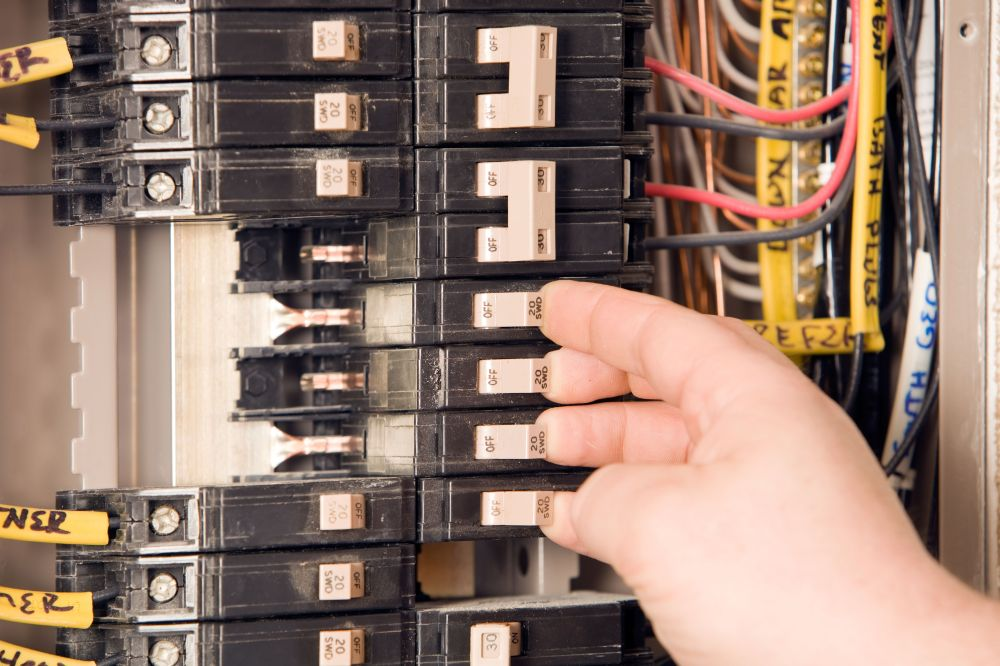 medium resolution of break tab wiring multiple outlet