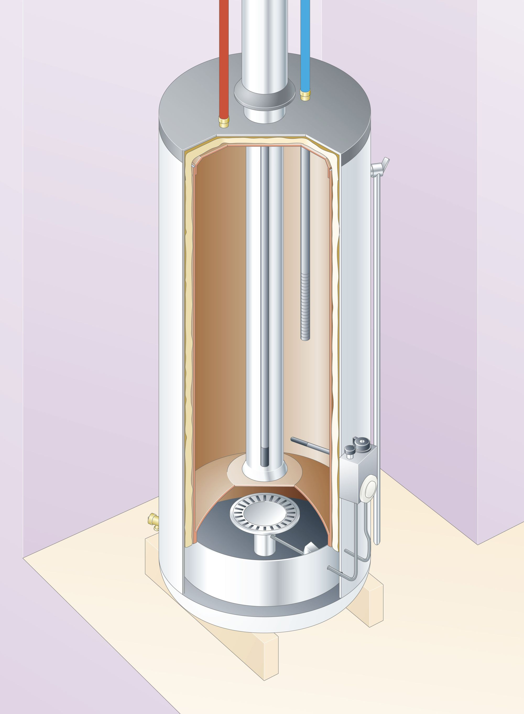 hight resolution of diagram of a water heater tank