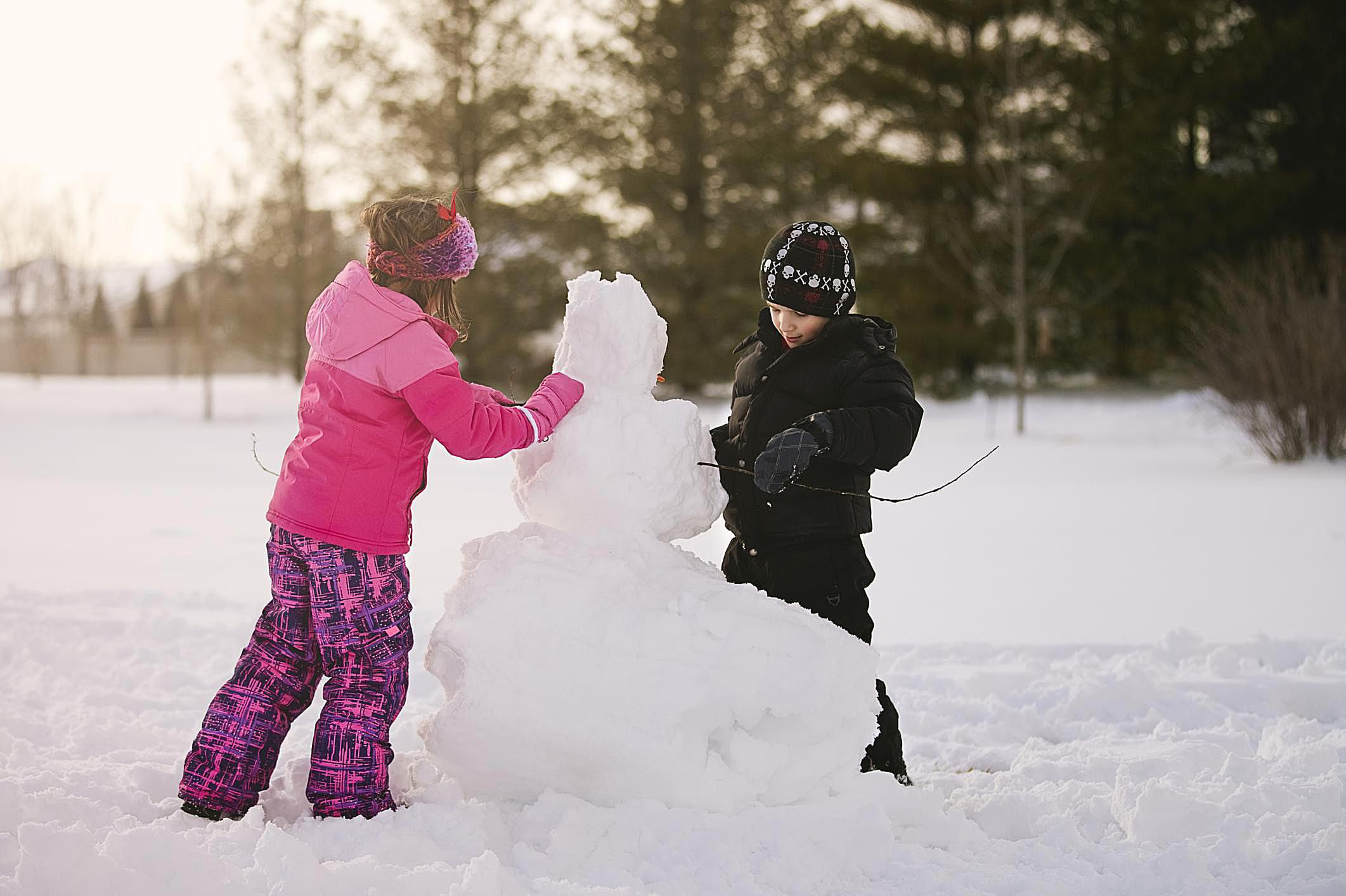 Kids Winter Party Games