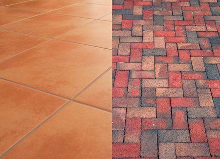 brick versus ceramic tile