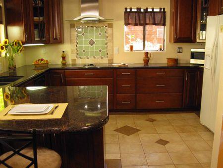 ceramic kitchen tile elkay sink flooring design pictures beige picture