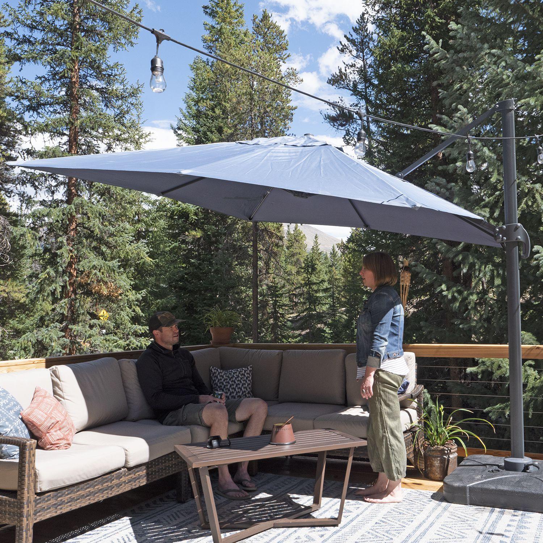sol 72 boracay square cantilever umbrella