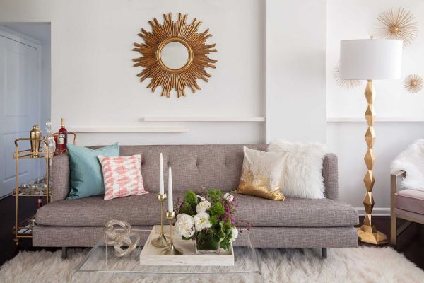 decorating idea small space living room How to Decorate a Small Living Room in 17 Ways