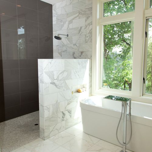 https www thespruce com showers without doors ideas 4137742