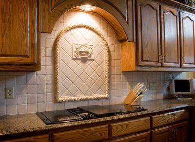 kitchen backsplash design mosaic tiles 30 amazing ideas for backsplashes with tile medallion over stove