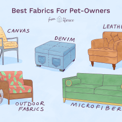 Best Fabrics For Chairs Portable Golf Tournaments 5 Great Pet Friendly Your Home