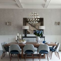 Modern Gray Dining Chairs Denim Bean Bag Chair 25 Room Design Ideas