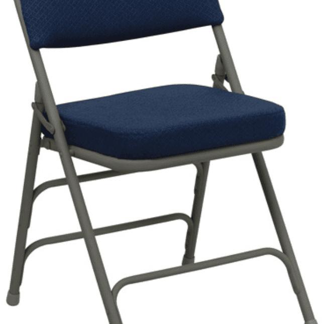 best folding chair ergonomic mesh singapore chairs for 2019 padded hercules hinged fabric