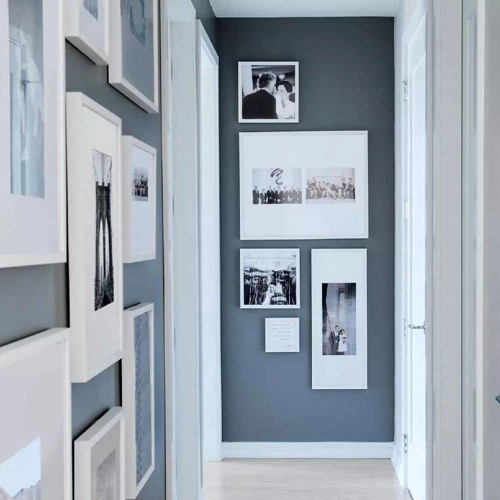 Photo Frames in Hallway