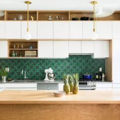 Modern Kitchen Backsplash Cabinet Designs Colorful And Ideas Bold Green