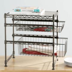 Kitchen Organizer Corner Dining Bench The Best Cabinet Organizers For 2019 Wayfair Basics Stackable