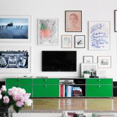 Living Room Art Wall Rooms With Leather Chairs 25 Great Design Ideas For Gallery Walls