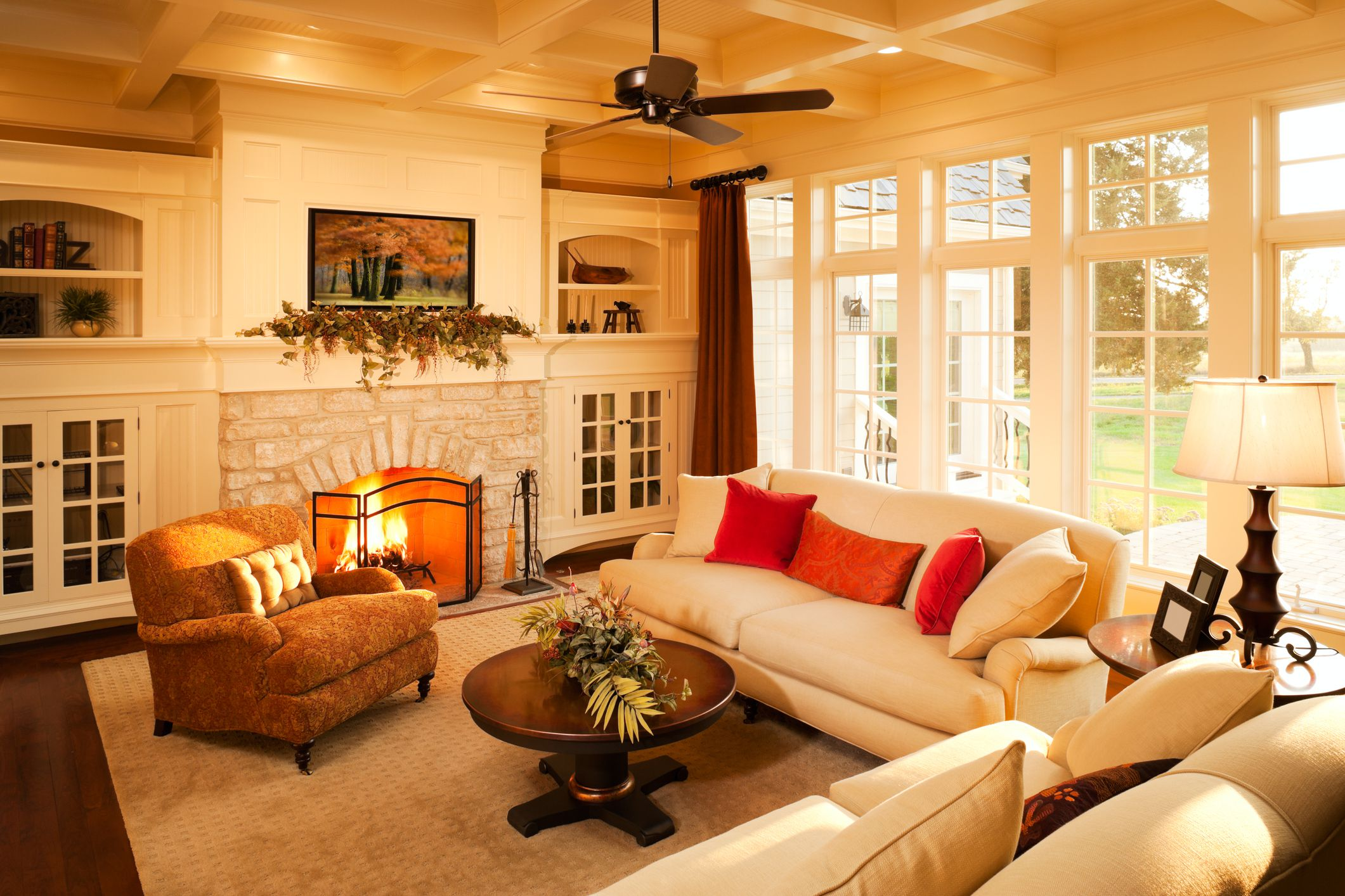 arrange living room with fireplace covers for furniture sofa placement tips ideal function and balance
