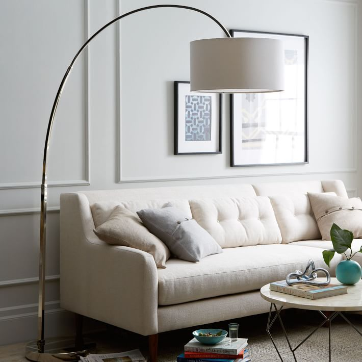living room floor lamp color scheme ideas for 7 best lamps 2019 high ceilings overarching linen shade