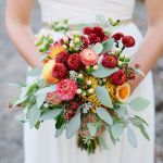 15 Fall Wedding Bouquets