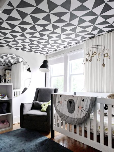 amazing living room wallpaper hgtv gray rooms 29 ceiling ideas black and white on the crystal sinclair interior design