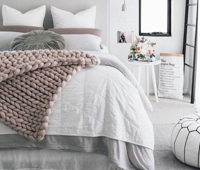 Gray Colors Bedroom