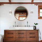 Rustic Chic Modern Farmhouse Bathrooms