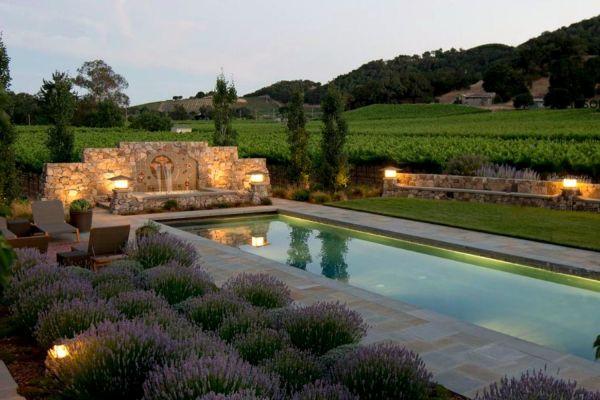 beautiful mediterranean pool