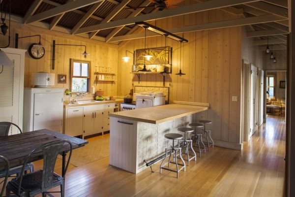 open kitchen with ceiling beams Can You Expose Ceiling Joists For That Open Beam Look?