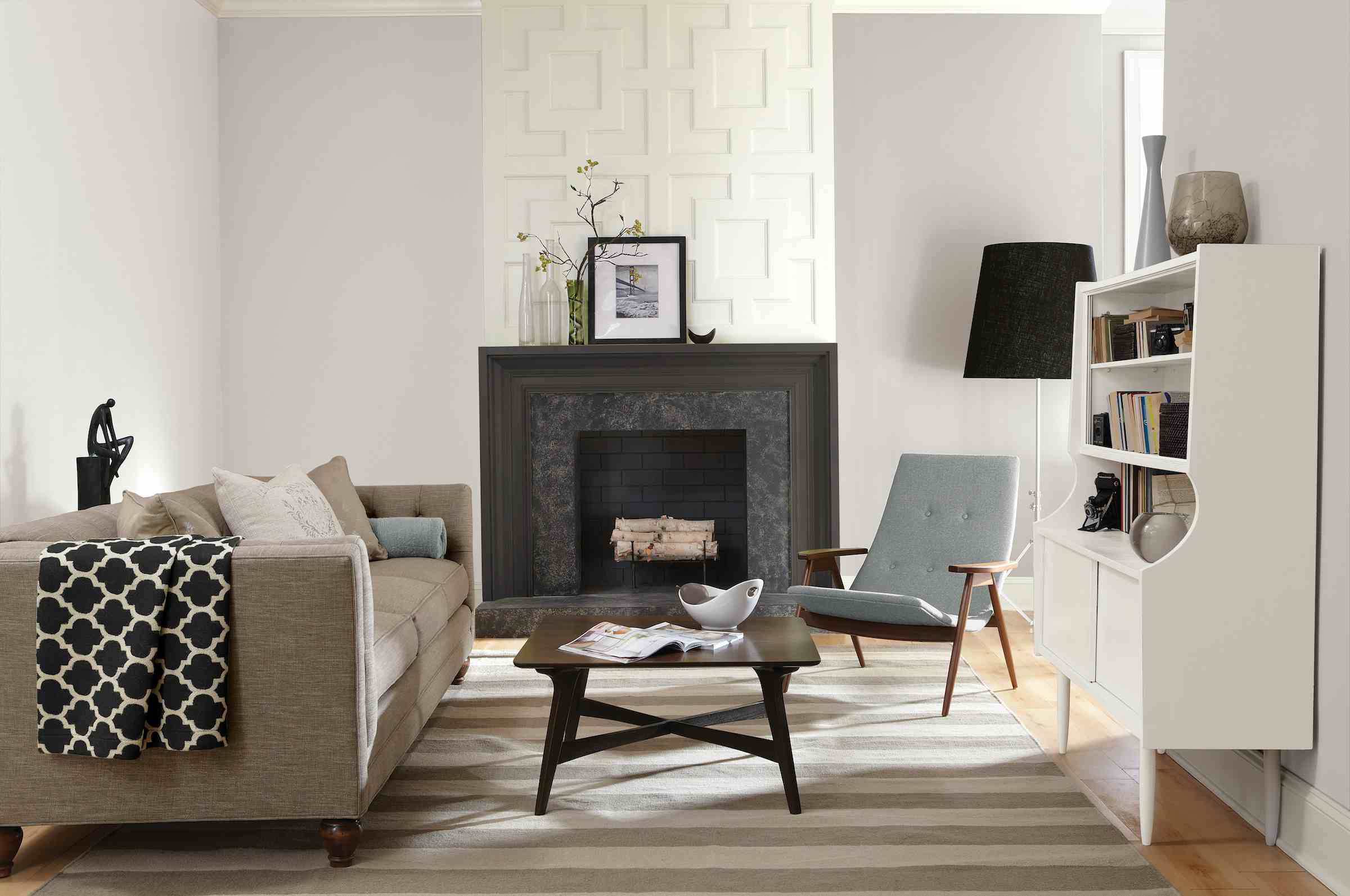best living room colors neutral navy blue furniture top 9 paint for a new home crushed ice sw 7647 on display in